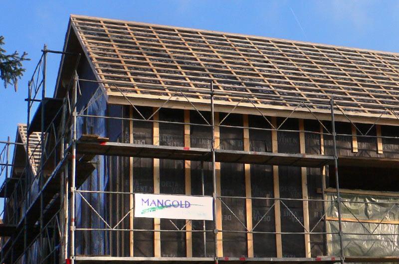 Construction à ossature bois à Leymen