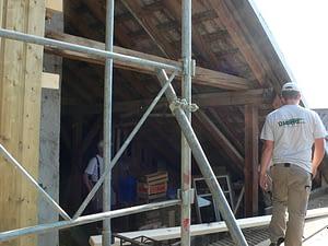 Bardage bois dans le cadre d'une rénovation