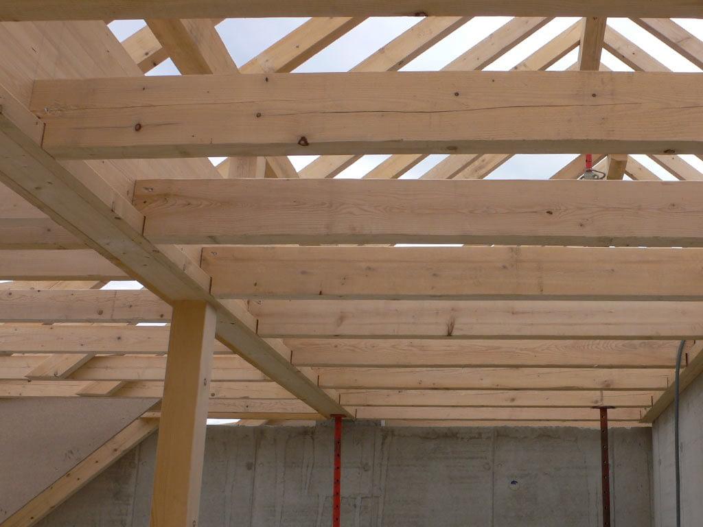 Charpente, construction neuve, Dornach
