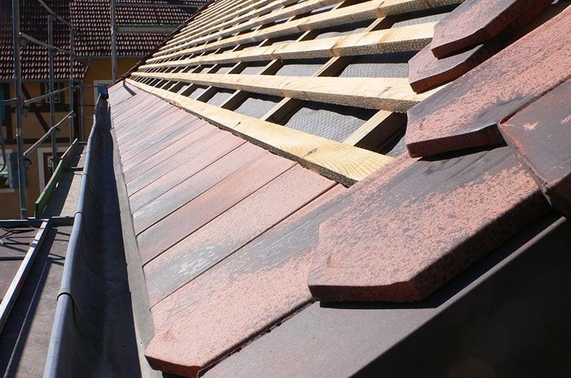 Rénovation d'une toiture traditionnelle