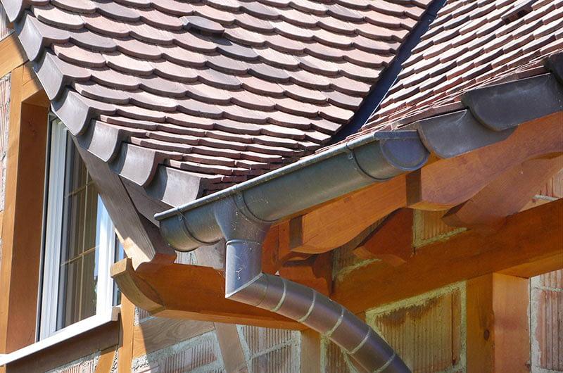 Maison colombage et briques