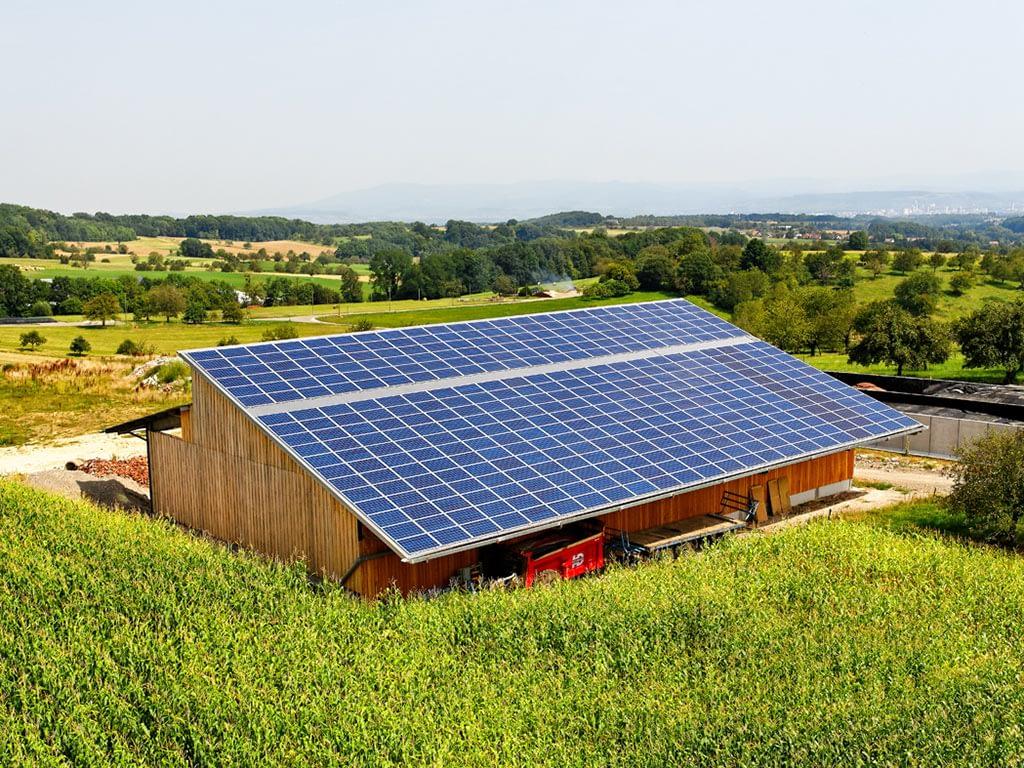 Photovoltaïque sur bâtiment agricole à Hagenthal